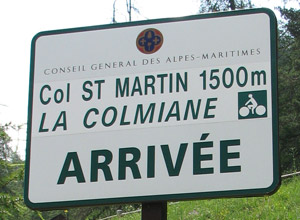 Col St Martin - sign