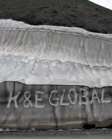 K&E Global on Cime de la Bonette