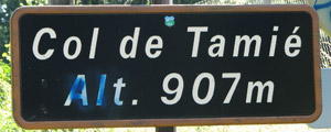 Col de Tamié - Sign